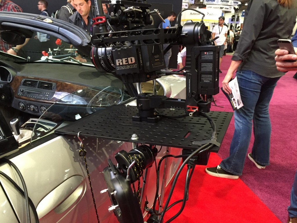 The Matthews Brauer Hostess Tray Kit shown at NAB 2015